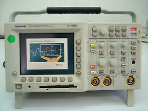 Tektronix Tds3052b 500mhz 5gs s 2ch Oscilloscope Digital Phosphor Dso Options