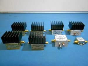 Mini circuits Assorted Amplifiers Lot Of 8