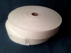 4 Foam Rolls 1 4 X 4 X 150 Closed Cell Adhesive Sticky Back Peel