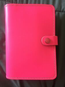 Filofax Personal Original Pink Leather