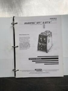 Lincoln Electric Invertec Stt And Stt Ii Service Manual Svm129a