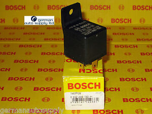 Bosch Main Relay Fuel Pump Relay 0332209150 New Oem