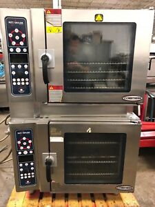 2011 Double Stack Alto Shaam 7 14 Esi Combitherm Steamer Convection Combi Oven
