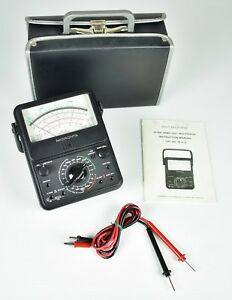 Micronta 21 Range Multitester 22 210 With Audible Cont Tester Radio Shack Clean