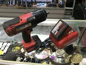 Snapon Ct8850 1 2 18v Impact Wrench With 2 Batterys And Charger