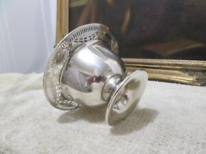 Rare Old Sterling Silver Bowl Marked Shreve Crump Low Wide 5 113 Gram