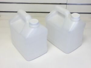 2 Jugs For Carpet Cleaning Inline Pressure Sprayer 5 Quart With Lids Free Ship