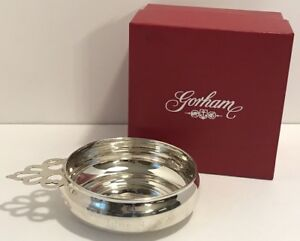 Gorham Sterling Silver Porringer 1627 Monogrammed Dated In Original Box