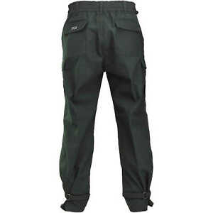 Fireline 6 Oz Nomex Iiia Wildland Fire Pants Green Large Extra Long Inseam