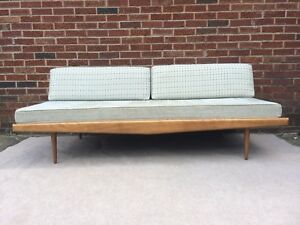 Mid Century Modern Sofa Day Bed Made In Yugoslavia