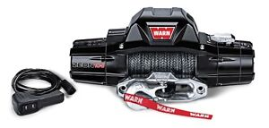 Warn Zeon 10 S Recovery Winch W Spydura Synthetic Rope