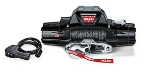 Warn Zeon 8 S Recovery Winch W Spydura Synthetic Rope