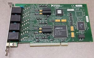 National Instruments 185729d 01 Pci Serial Rs 232 485 Isolated 4 Port Card