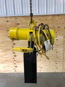 1 Ton Electric Budgit Chain Hoist 3 Phase