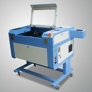 60w Co2 Laser Cutting And Engraving Machine 500 300mm Water Pump Usb Port M500