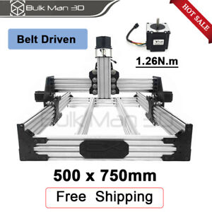 Ox Cnc Router Machine Kit 500 750mm With Nema23 Stepper Motor Cnc Mill Engraver