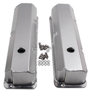 For 1958 1976 Ford Fe Bbf 332 352 360 390 406 413 427 Aluminum Tall Valve Cover