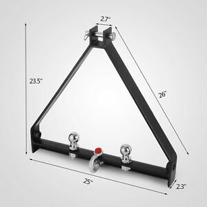 Durable 3 Point Bx Trailer Hitch Compact Tractor Drawbar Attachments Hotsell
