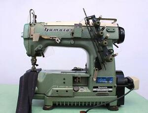 Yamato Dw 1353md Coverstitch Binder 3 needle 4 thread Industrial Sewing Machine