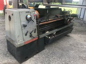 21 X 80 Clausing Colchester 8100 Series Engine Lathe Fully Operational