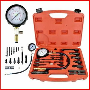 Diesel Engine Compression Tester Test Set Kit For Car Auto Tractor Semi New