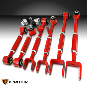 For 08 13 Accord 09 13 Tl Tsx Front Ball Joint rear Camber Control Arm Toe Kit