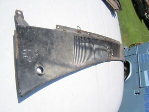 66 67 Comet Fairlane Cowl Vent Grille Wiper Arm Cover 1966 1967