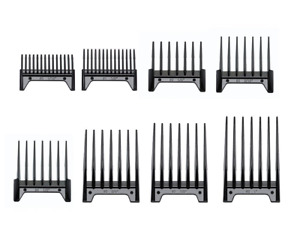 OSTER PROFESSIONAL 8 PIECE UNIVERSAL CLIPPER ATTACHMENT COMBS for FAST FEED SET