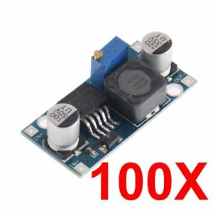 100pcs Lm2596 Dc dc Buck Adjustable Step down Power Supply Converter Module Us