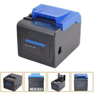 80mm Thermal Receipt Kitchen Printer Usb Rs232 Esc pos Order Reminder Waterproof