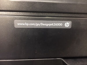 Hp L26500 61 Latex Wide Format Printer great Condition Gently Used