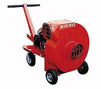 Nikro 4 Gasoline Powered Air Duct Cleaning Package 20hpgas pack