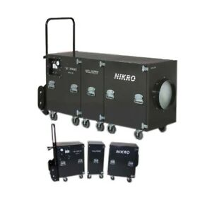 Nikro Sl4000 5000 Cfm Free Air Duct Cleaning System 220v 60hz