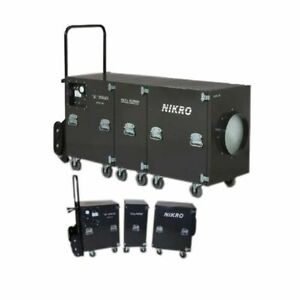 Nikro Sl4000 Air Duct Cleaning System dual Motor