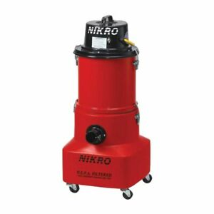 Nikro Pw15110 15 Gallon Wet dry Hepa Vacuum 220v 50 60 Hz