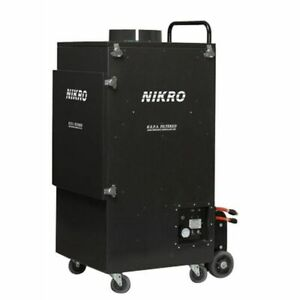 Nikro Ur5000 Upright Commercial Air Duct Cleaning System dual Motor