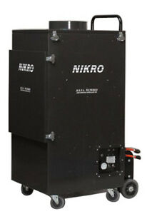 Nikro Ur5000 5000 Cfm Free Air Duct Cleaning System 220v 60hz