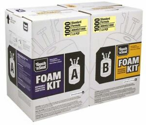 Touch N Seal 1000 Fr Standard 1 0 Pcf Spray Foam 4004521000