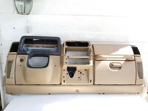 1997 2000 Jeep Tj Wrangler Factory Complete Dash Assembly Dashboard Camel