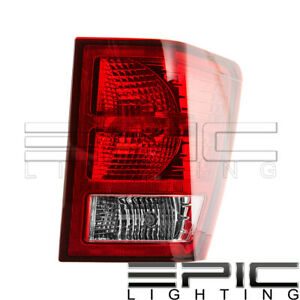 Right Passenger Side Rh Rear Brake Tail Lamp For 2007 2010 Jeep Grand Cherokee