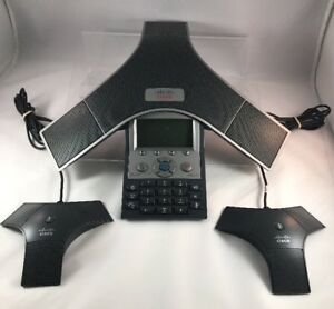 Cisco Cp 7937g Unified Ip Conference Station W 2 Microphones Fast Ship B3
