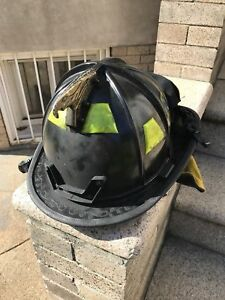 Morning Pride Firefighter Fire Helmet Black Dom 2011