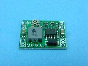 Mini Step down Voltage Regulator 4 5 28v Input 0 8 20v Output