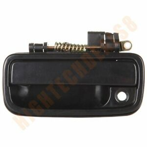 For 95 04 Toyota Tacoma Door Handle Front Left Driver Side Exterior Outer Black