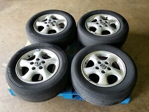Used Toyota Camry Lexus Es300 Rims Wheels W Tires 15 5x114 3 15x6 Offset 45