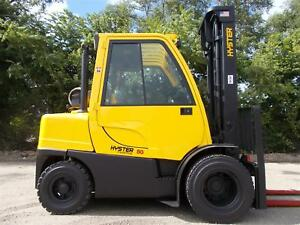 2008 Hyster H80ft Fortis Series Pneumatic Forklift Lift Truck 8000lb Capacity