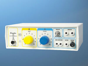 Electro Surgical Generator Electrocautery Electrosurgical Diathermy Simplex 300