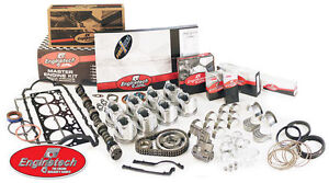 Enginetech Engine Master Rebuild Kit For 86 88 Ford 302 5 Ohv V8 Exc Ho Cobra