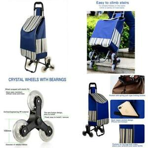 Shopping Trolleys Foldable Shopping Cart utility Cart Stair Climing Cart With Si