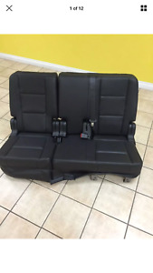 2011 2015 Ford Explorer Police Rear Seats